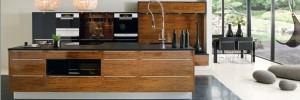 Koka virtuves mēbeles